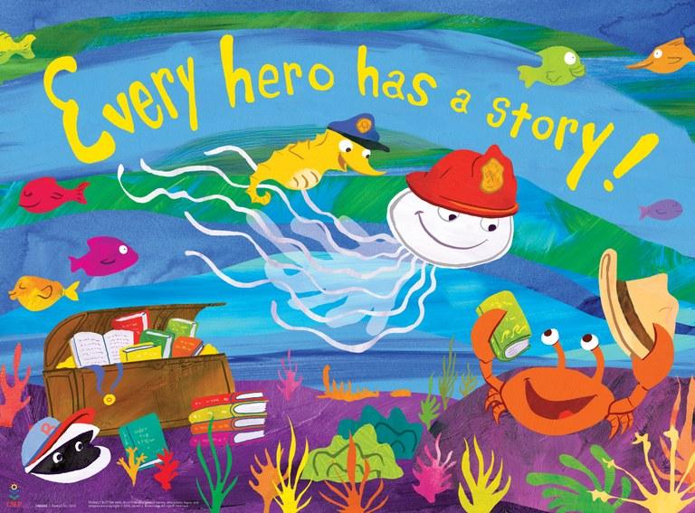Every Hero Preschool Poster 2015