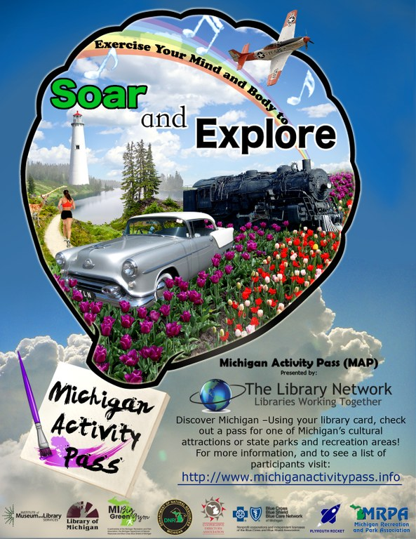 Michigan Activity Pass Poster
