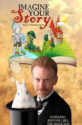 "Baffling Bill presents ""Imagine Your Story: A Virtual Magic Reading Show"" (Online)"